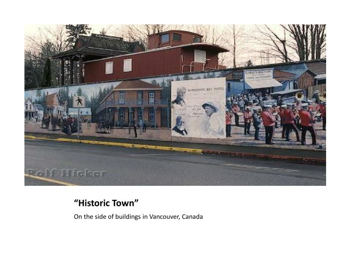 """Historic Town"""