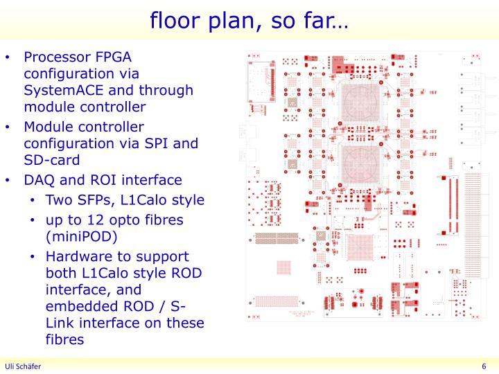 floor plan, so far…