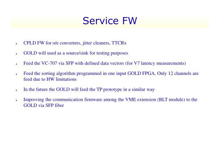 Service FW