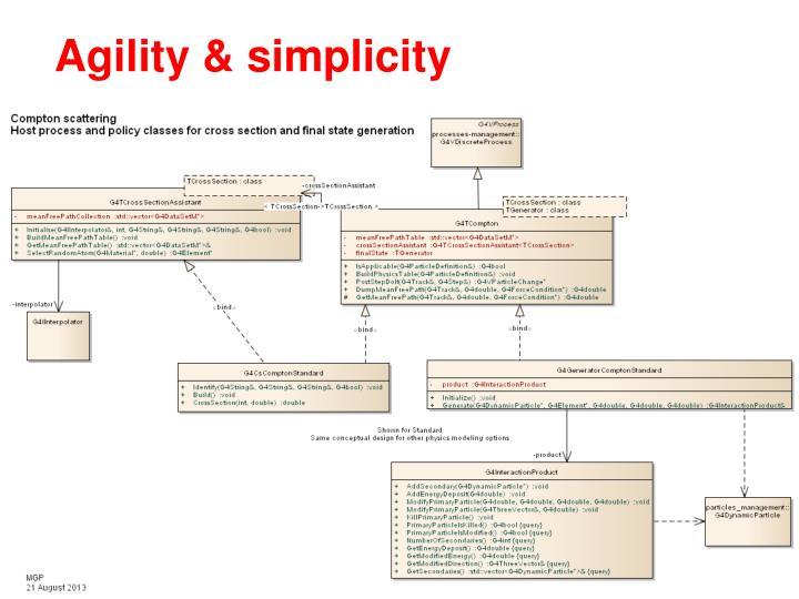 Agility & simplicity