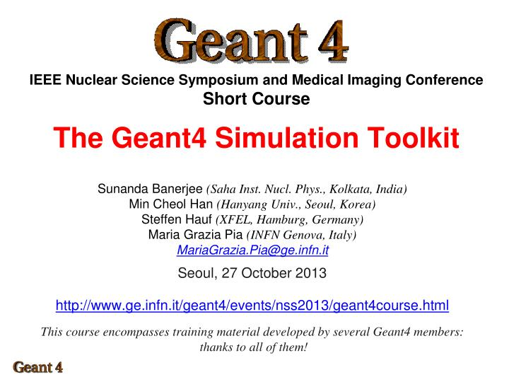 IEEE Nuclear Science Symposium and Medical Imaging Conference