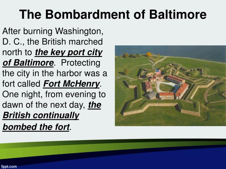 The Bombardment of Baltimore