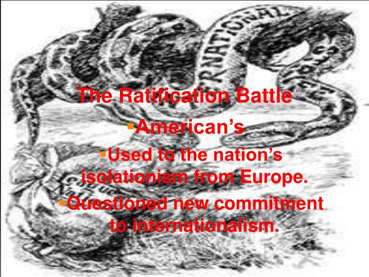 The Ratification Battle