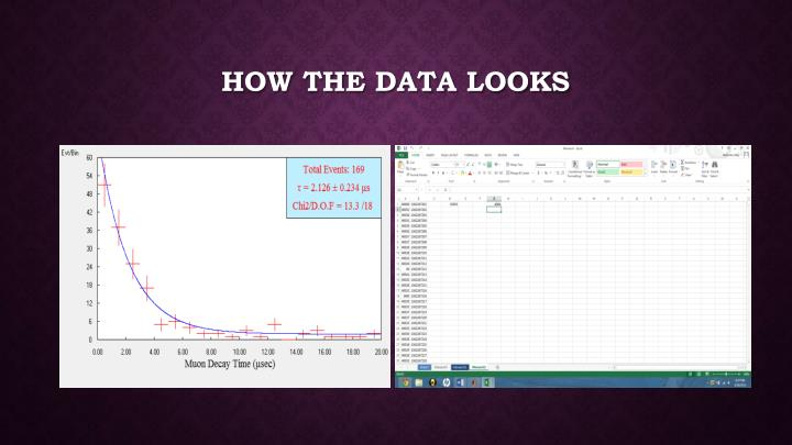 How the data looks