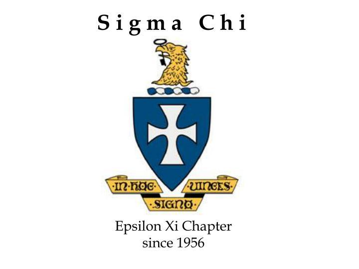 Epsilon Xi Chapter