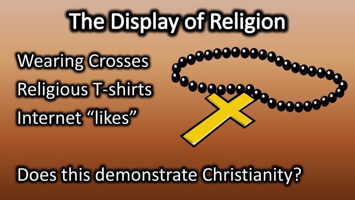 The Display of Religion
