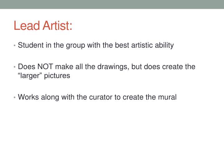 Lead Artist: