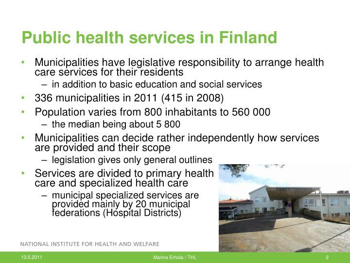 Public health services in Finland