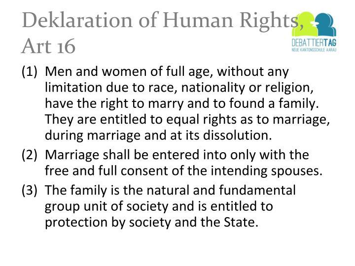 Deklaration