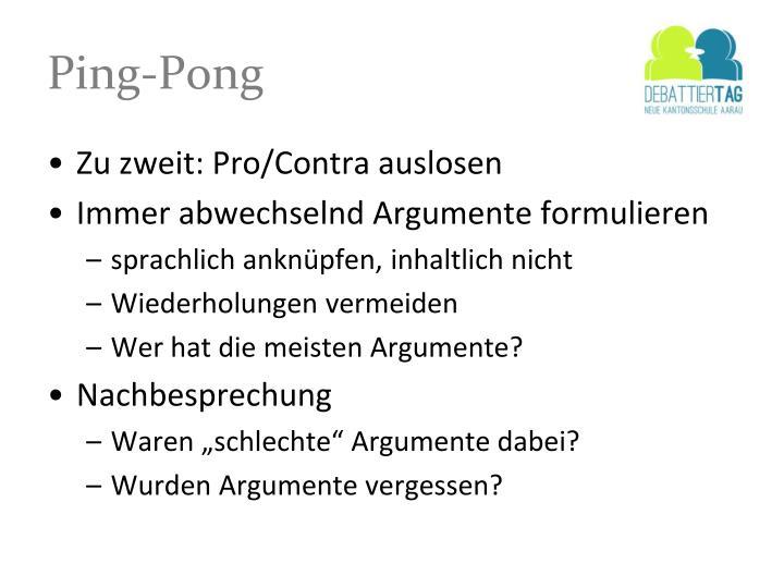 Ping-