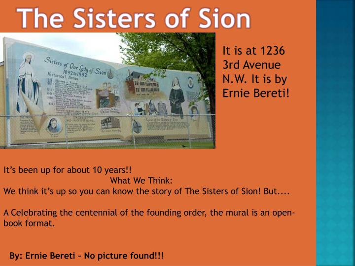 The Sisters of Sion