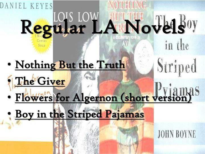 Regular LA Novels