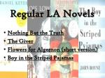 regular la novels
