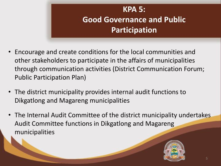 KPA 5:
