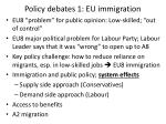 policy debates 1 eu immigration