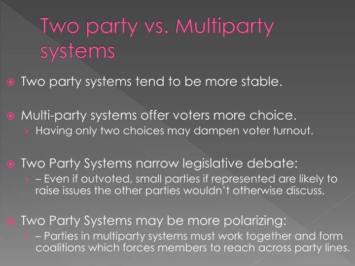 Two party vs.