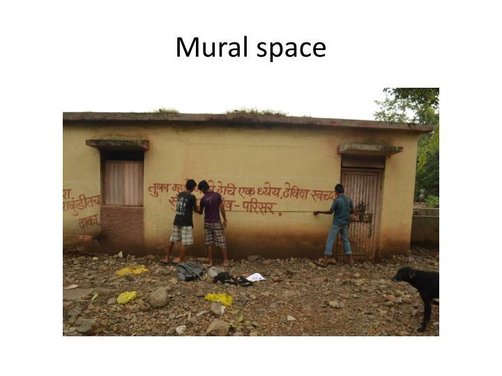 Mural space