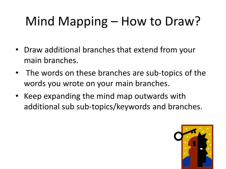 Mind Mapping – How to Draw?