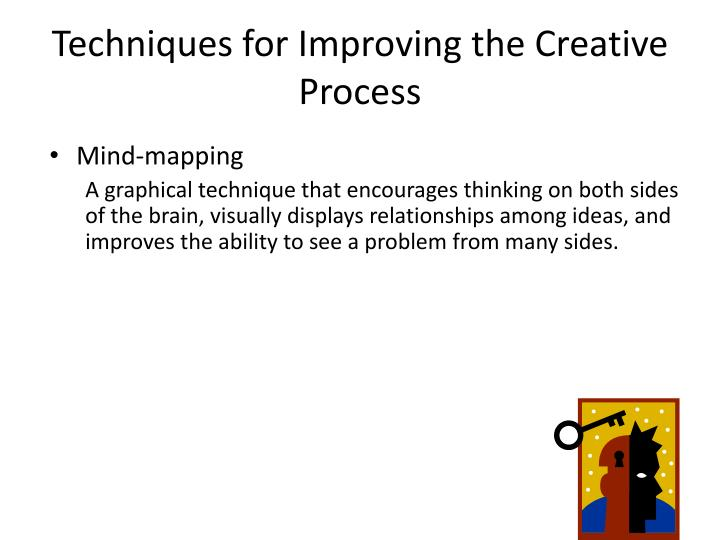 Techniques for Improving the Creative Process