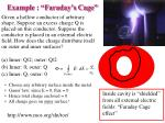 example faraday s cage