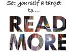 set yourself a target to