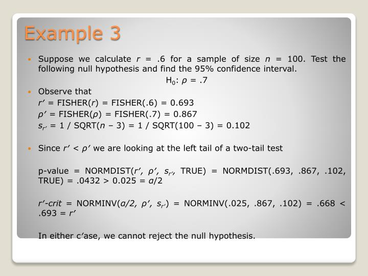 Suppose we calculate