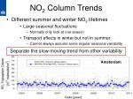 no 2 column trends