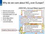 why do we care about no 2 o ver europe