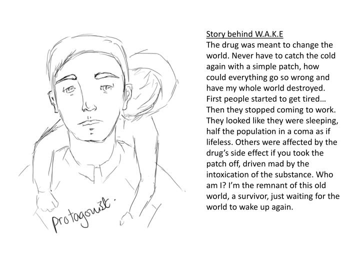 Story behind W.A.K.E