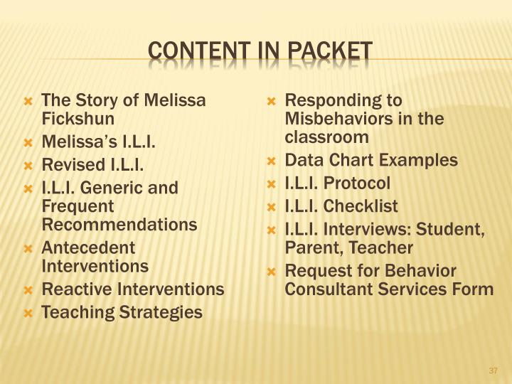 Content in Packet