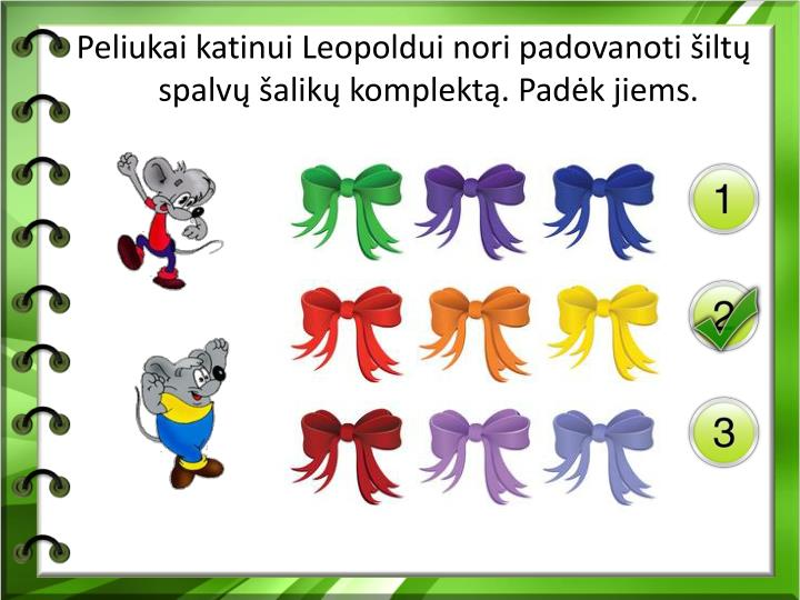 Peliukai katinui Leopoldui