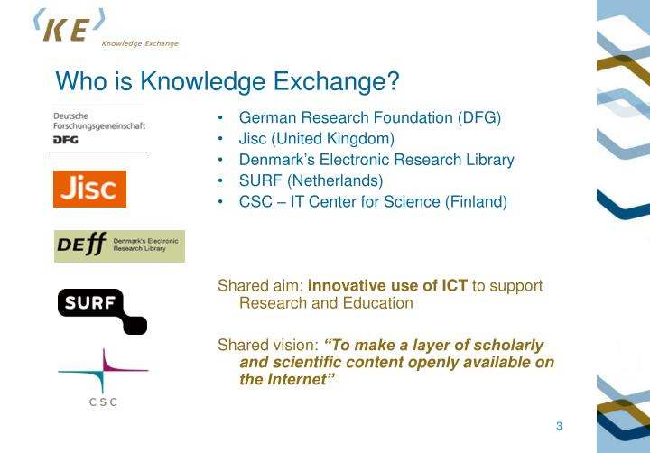 Who is Knowledge Exchange?