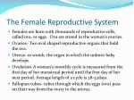 the female reproductive system1