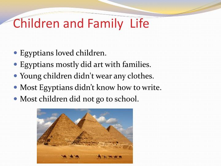 Children and family l ife