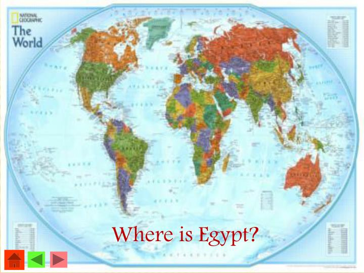 Where is Egypt?
