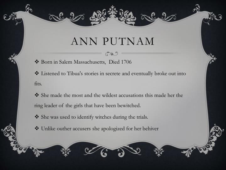 Ann Putnam