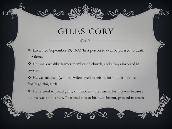 Giles Cory
