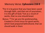 memory verse ephesians 2 8 9