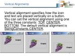 vertical alignments