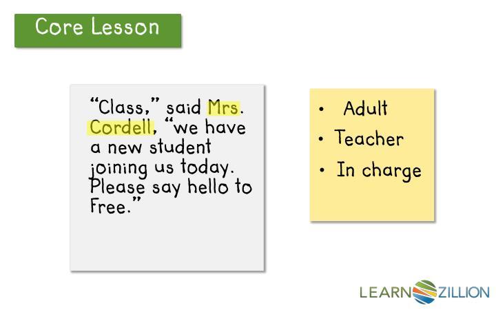 Core Lesson