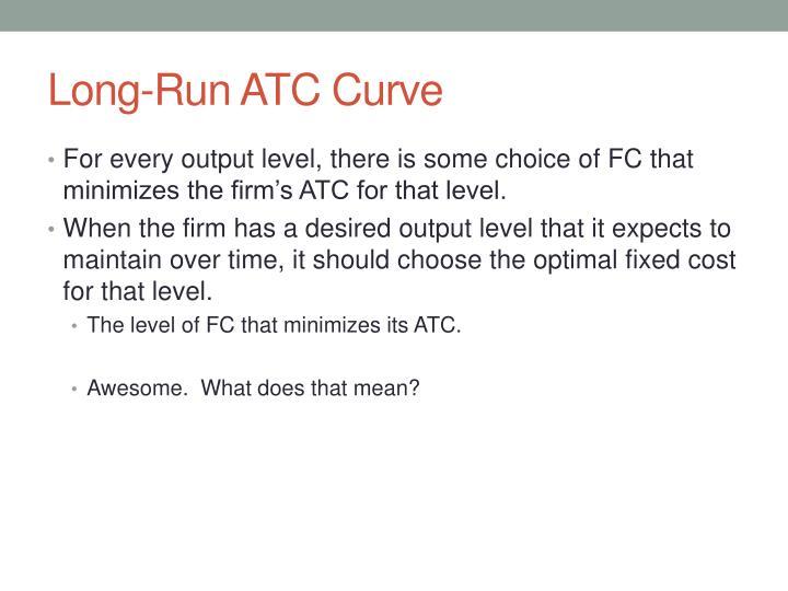 Long-Run ATC Curve