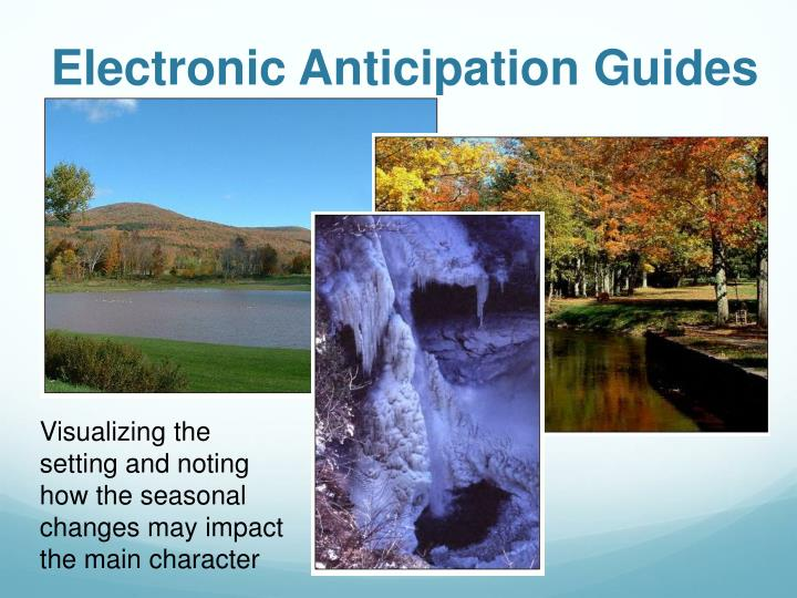 Electronic Anticipation Guides