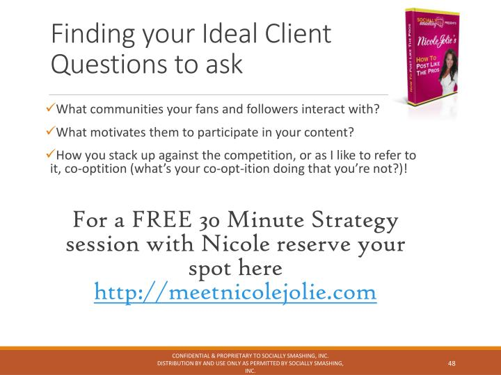 Finding your Ideal Client