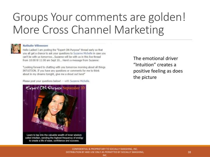 Groups Your comments are golden!