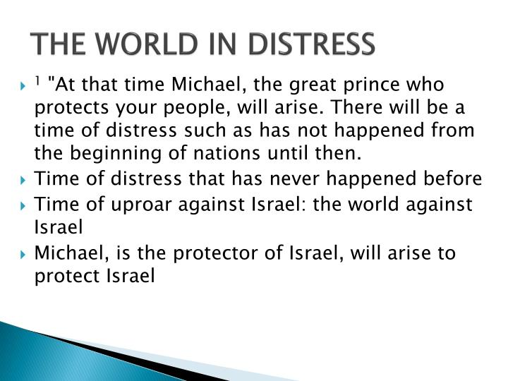 THE WORLD IN DISTRESS
