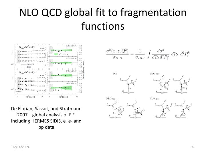 NLO QCD global fit to fragmentation functions