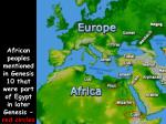 african peoples mentioned in genesis 10 that were part of egypt in later genesis red circles