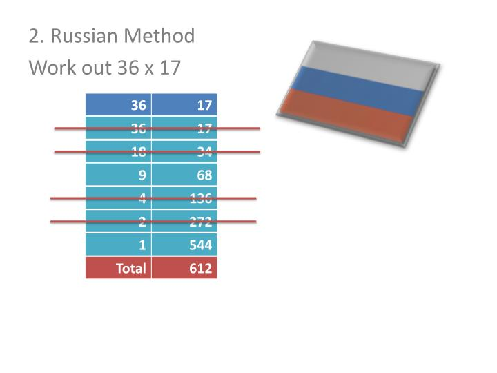 2. Russian Method