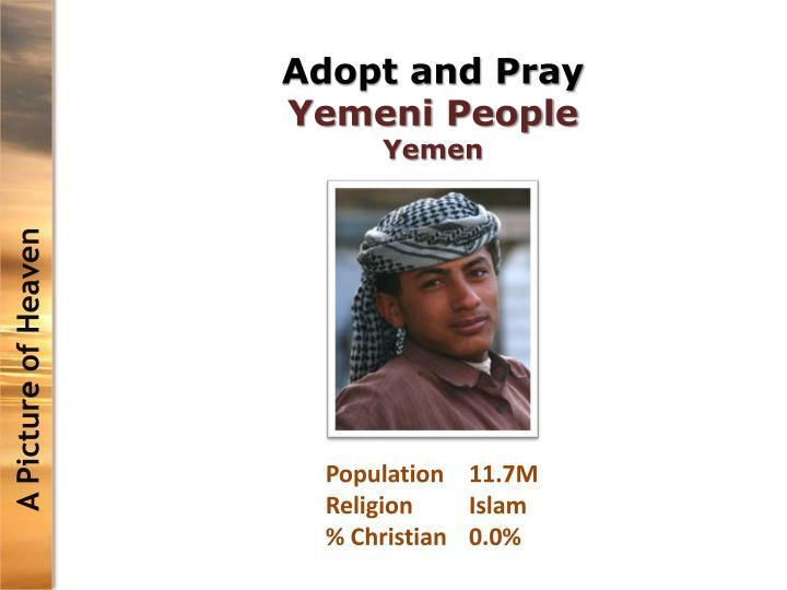 Adopt and Pray