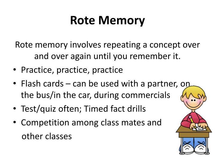 Rote Memory